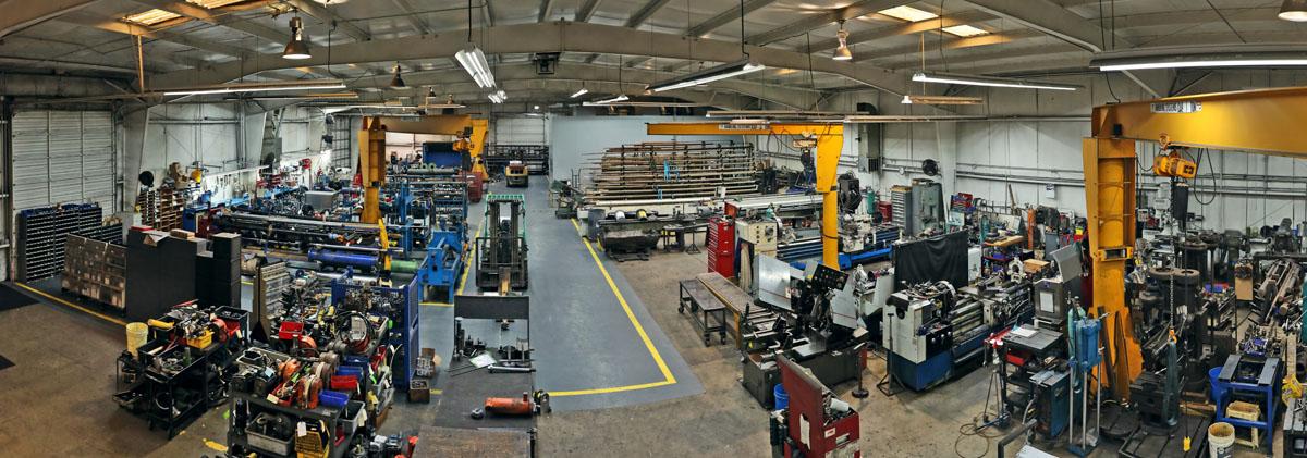 Coastal Hydraulics Shop Floor