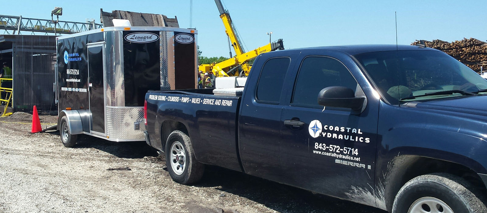 onsite hydraulic and pneumatic service and repair
