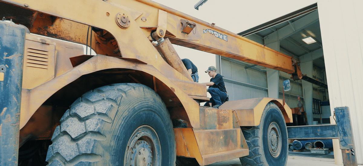 crane service, inspection & repair