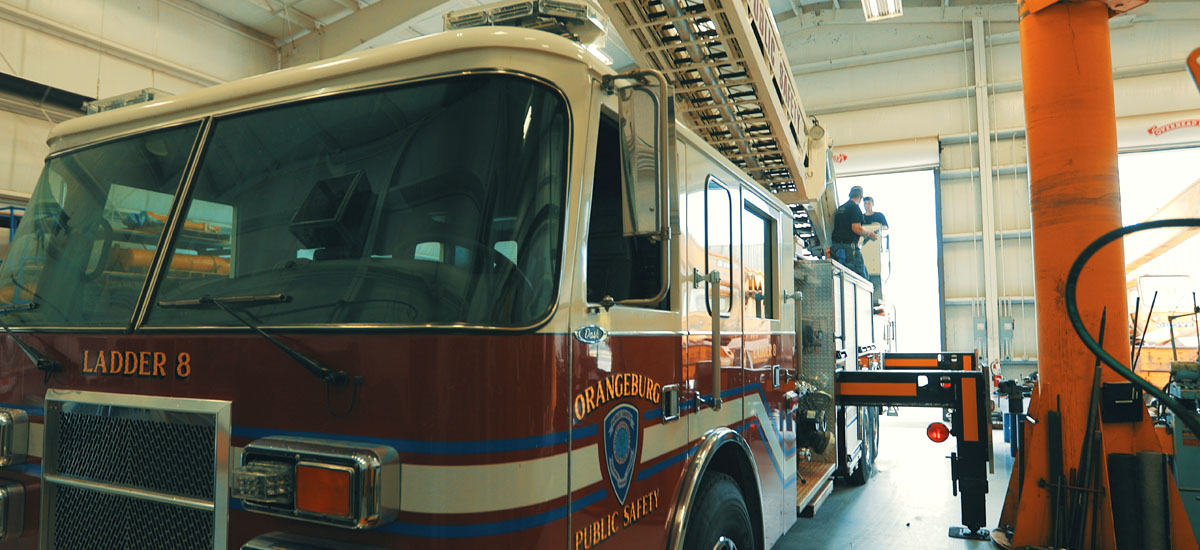 emergency vehicle inspection and service