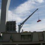 Container crane repair