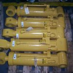 Re-build metal scrap yard grapple cylinders