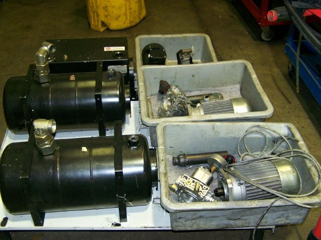 Hydraulic Pumps Motors And Valves Service And Repair