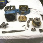 vane pump disassembly
